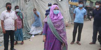 উপজেলার রামদিয়া বাজারে অভিজান পরিচালনা করেন উপজেলা সহকারী কমিশনার (ভ'মি) সাজিয়া শাহনাজ তমা